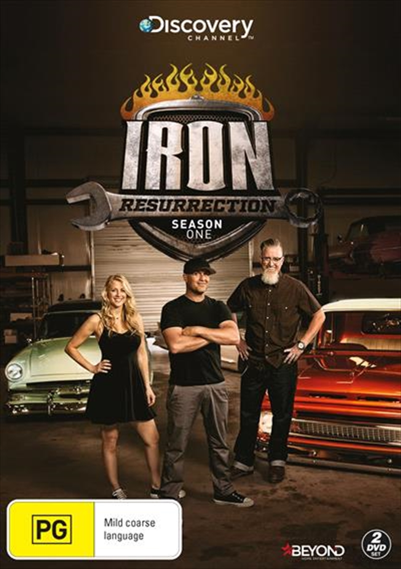 Buy Iron Resurrection Season 1 On Dvd On Sale Now With