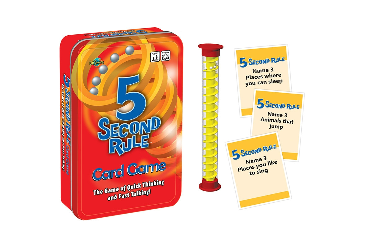 5 Second Rule Tin | Merchandise