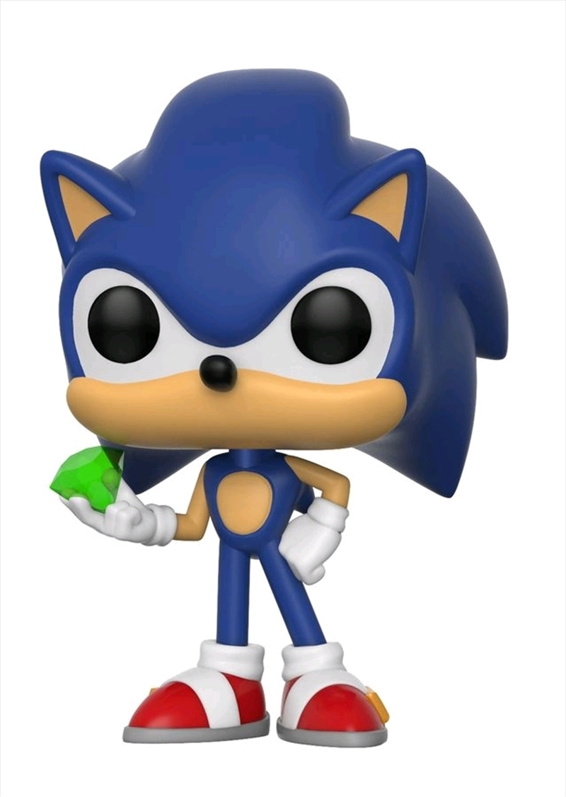 Sonic With Emerald | Pop Vinyl