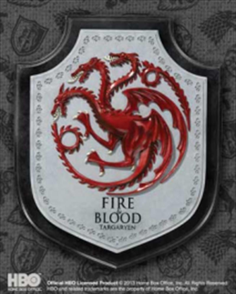 Targaryen House Crest Plaque | Merchandise