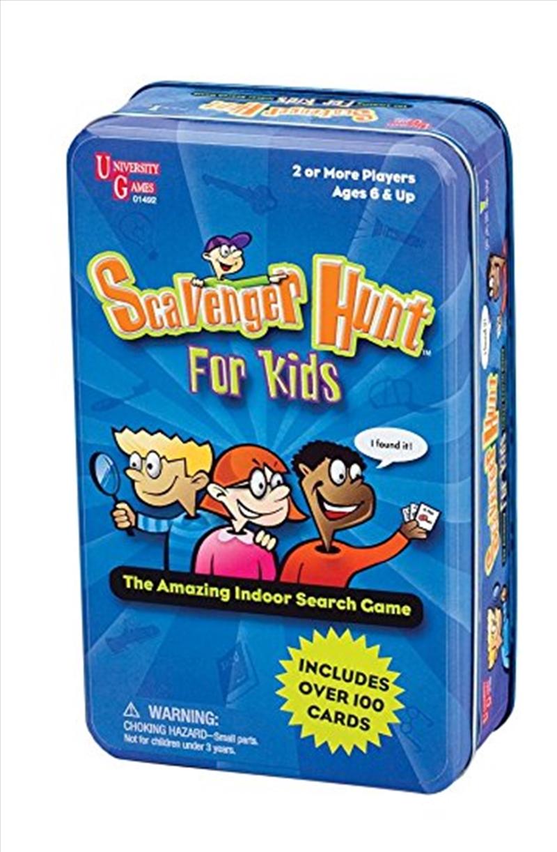 Scavenger Hunt For Kids Tin | Merchandise
