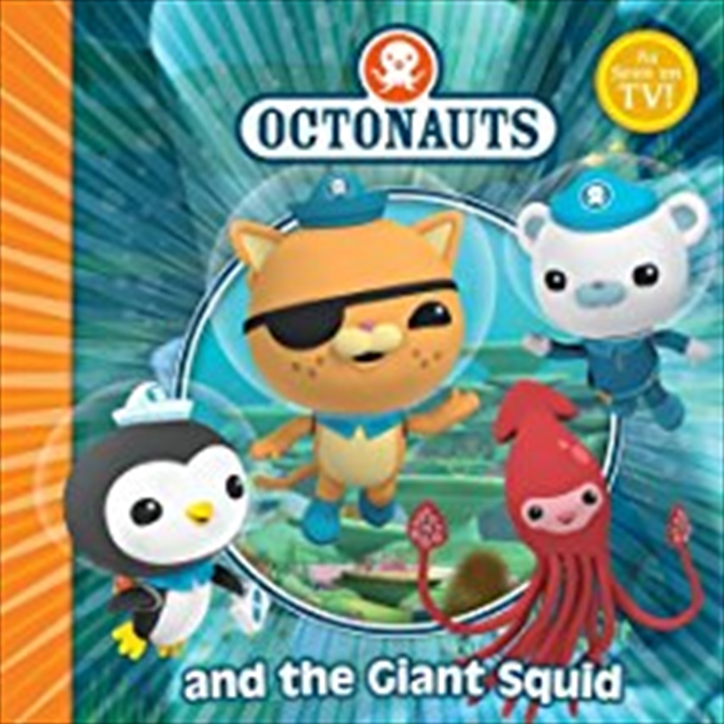 Octonauts And The Giant Squid | Board Book