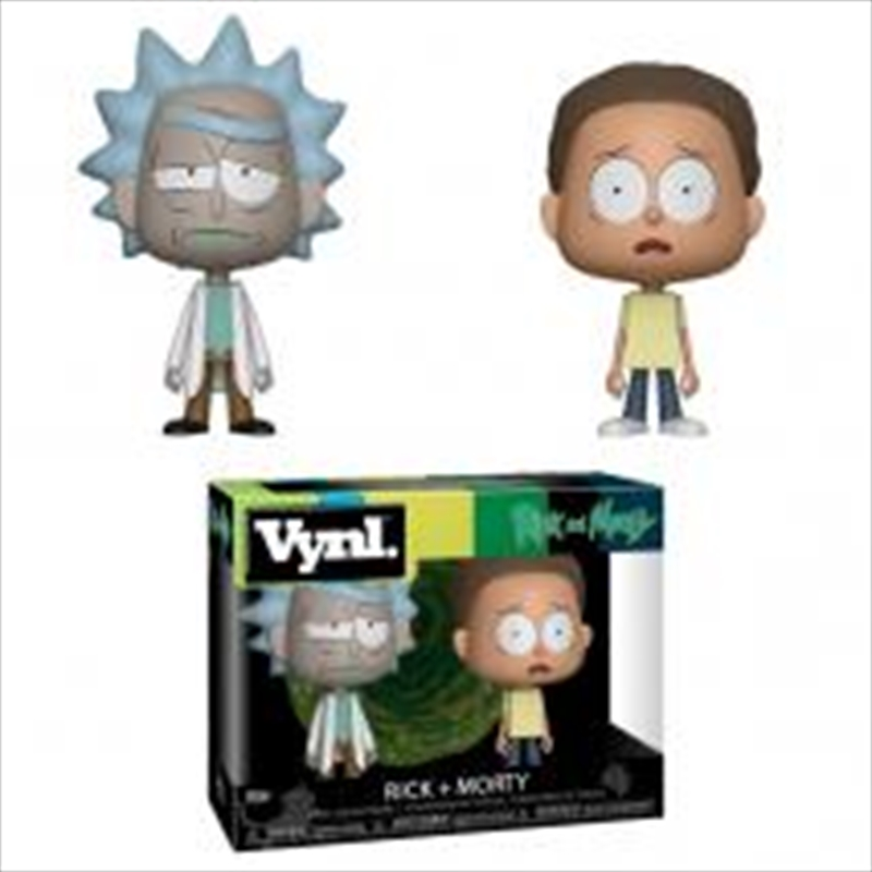 Rick And Morty 2pk | Pop Vinyl