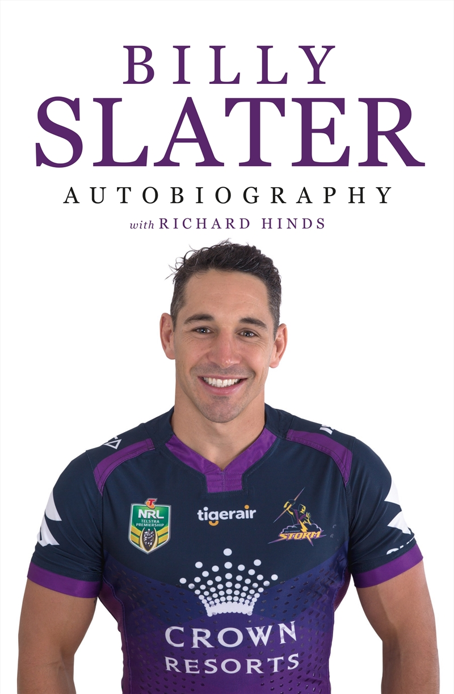 Billy Slater Autobiography Reading Paperback Book Sanity