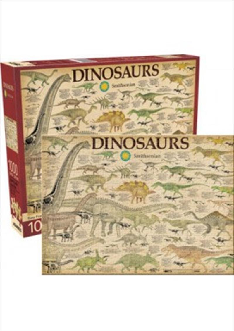 Smithsonian – Dinosaurs 1000 Piece Puzzle | Merchandise