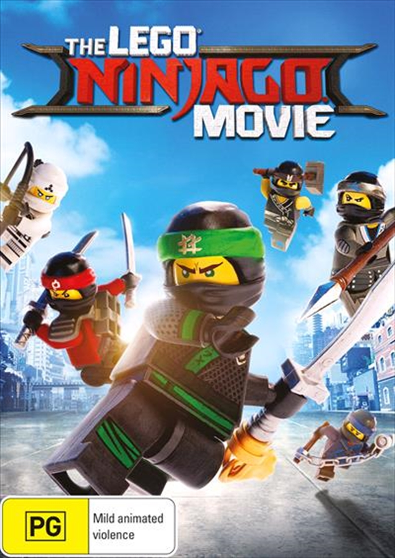 Lego Ninjago Movie | DVD