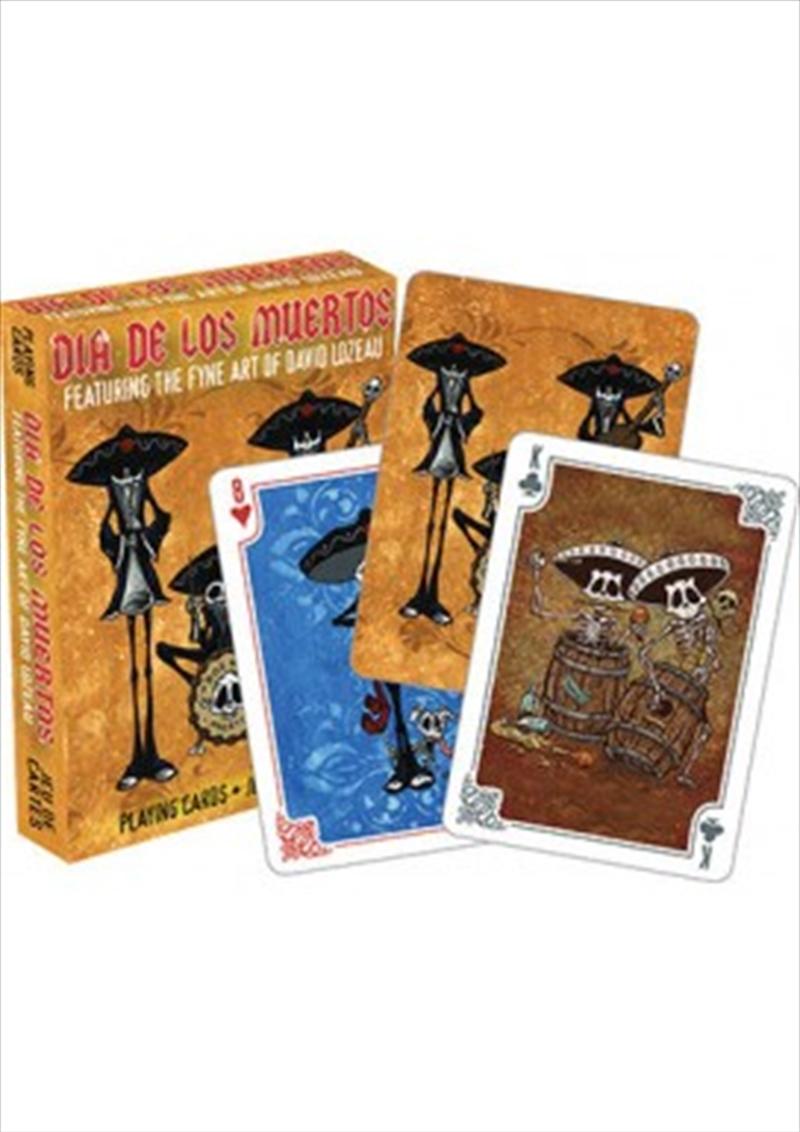 David Lozeau Dia De Los Muertos (Day of the Dead) Playing Cards | Merchandise