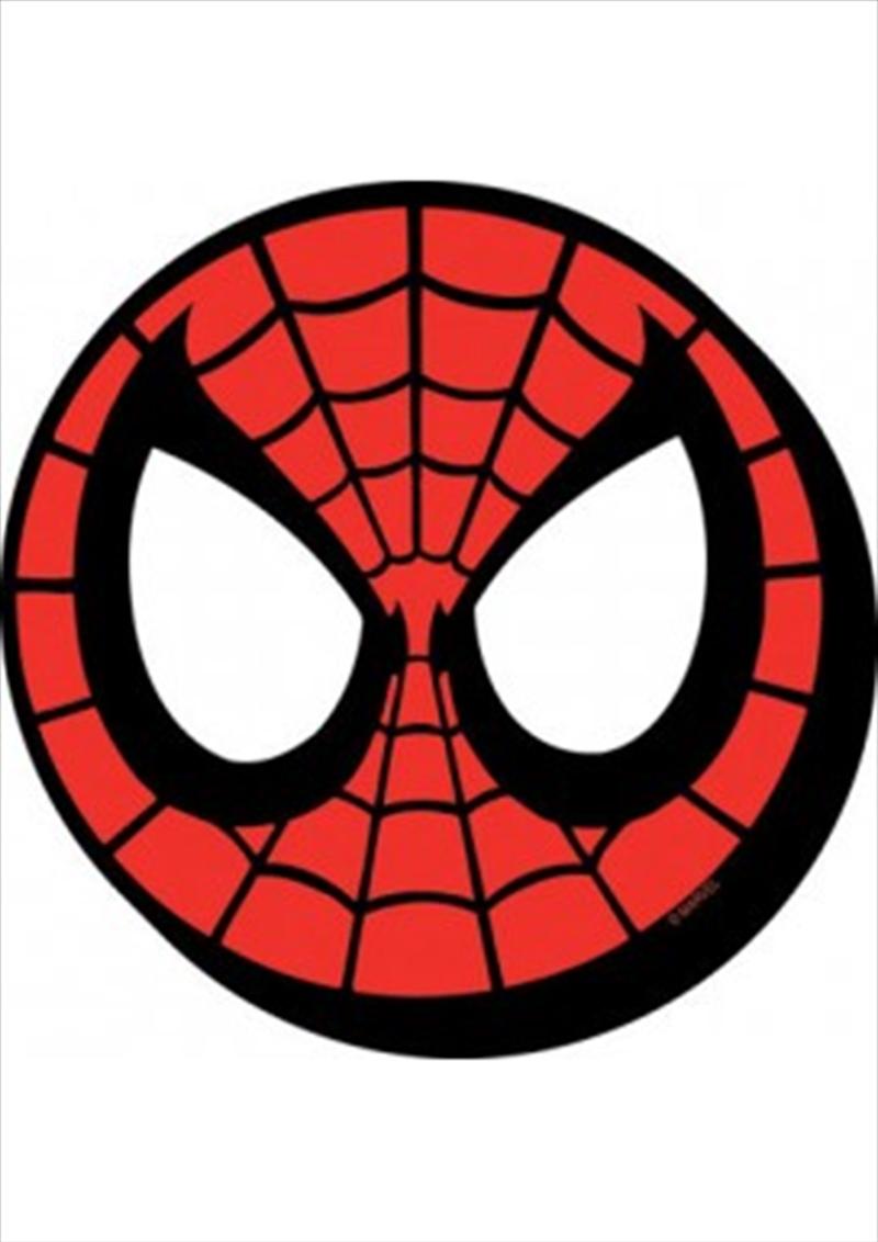 Marvel Spider-Man Mask Icon Chunky Magnet   Merchandise