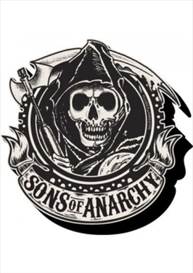 Sons of Anarchy Emblem Chunky Magnet | Merchandise