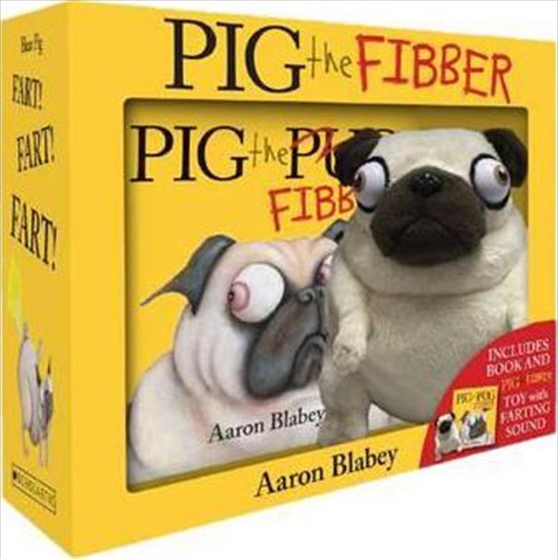 Pig The Fibber+farting Plush Boxed Set | Hardback Book
