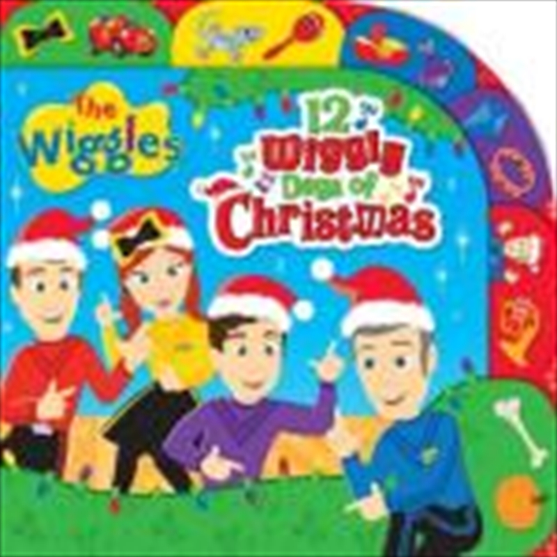 12 Wiggly Days Of Christmas | Paperback Book
