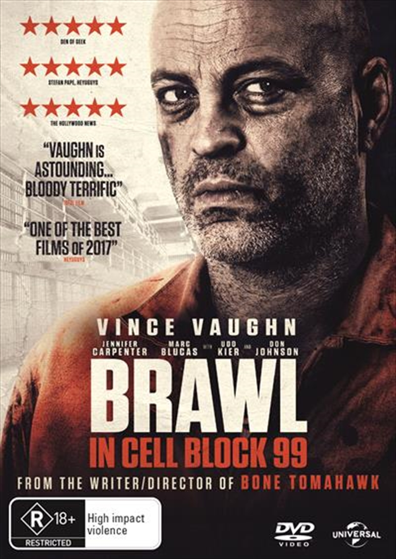 Brawl In Cell Block 99 | DVD