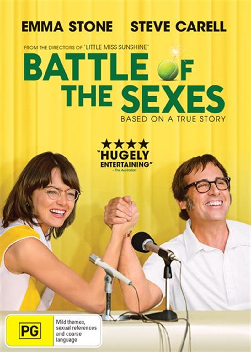 Battle Of The Sexes | DVD