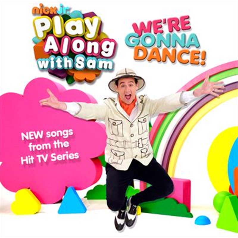 Play Along With Sam- We're Gonna Dance | CD