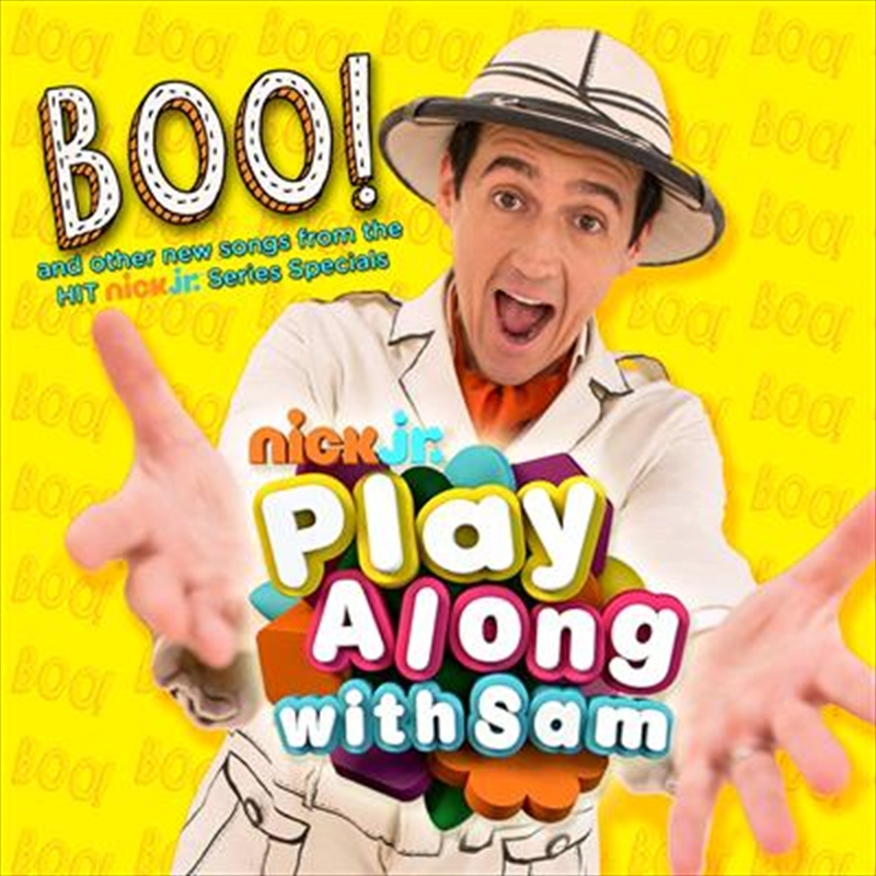 Play Along With Sam- Boo | CD