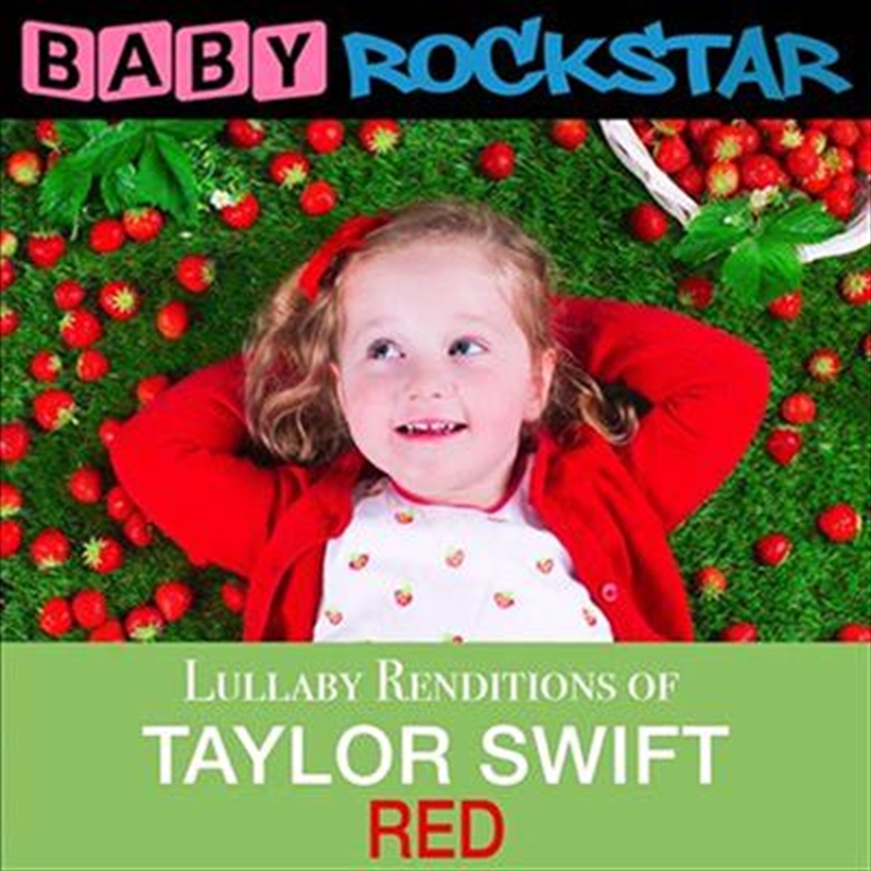 Taylor Swift Red- Lullaby Renditions   CD