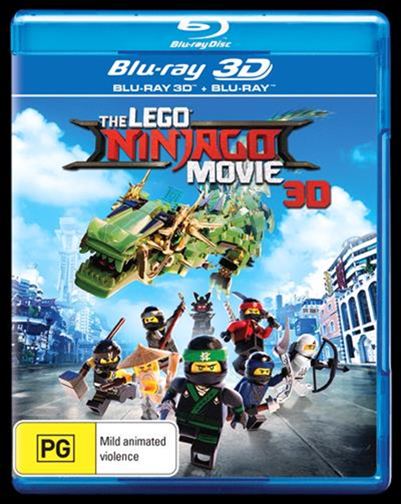 Buy Lego Ninjago Movie on Blu-ray 3D | On Sale Now With Fast Shipping