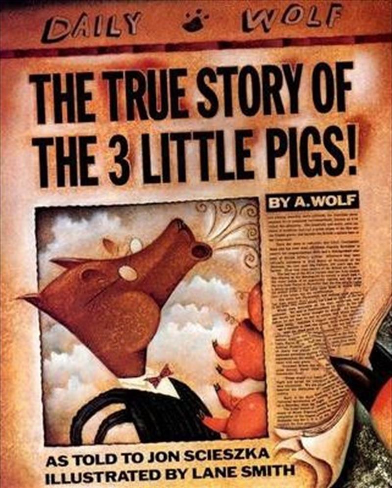 True Story Of The 3 Little Pig | Hardback Book