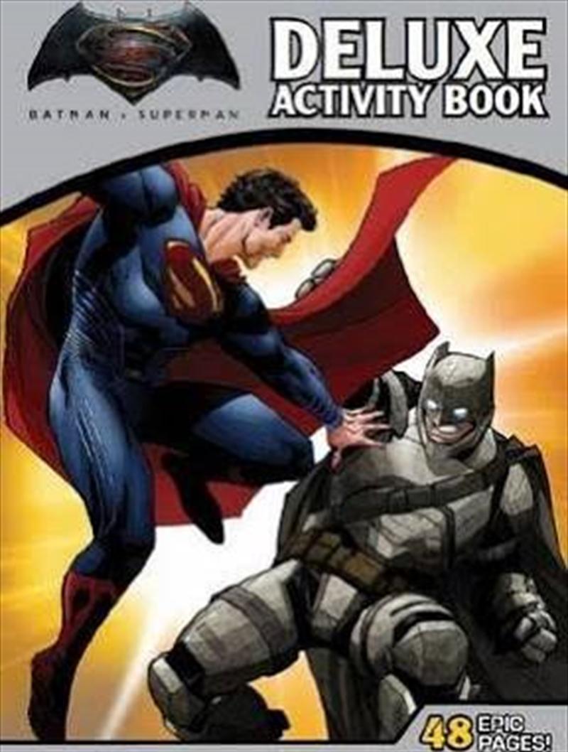 DC Comics: Batman vs Superman: Dawn of Justice Deluxe Activity Book   Paperback Book