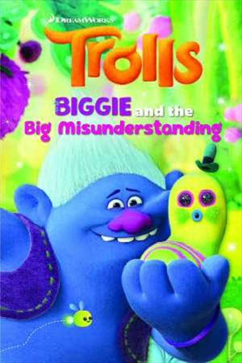 Trolls: Biggie And The Big Misunderstanding by Five Mile | Paperback Book