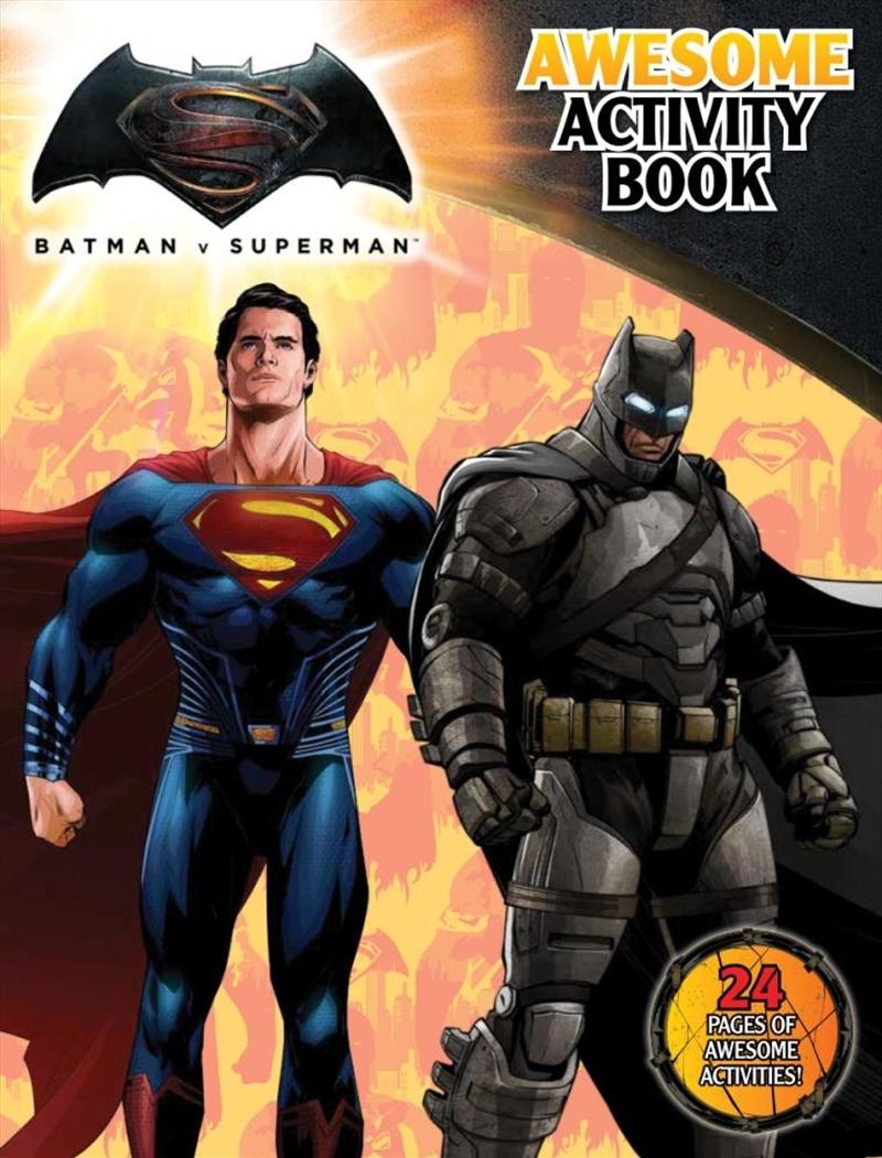 DC Comics: Batman vs Superman Awesome Activity Book | Paperback Book