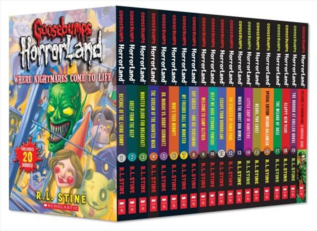 Goosebumps Horrorland 1-20 | Paperback Book