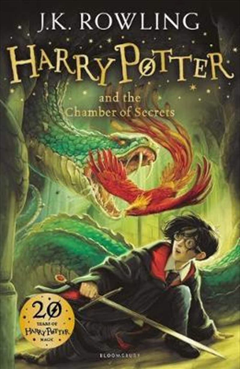 Harry Potter And The Chamber Of Secrets, Book 2 | Paperback Book