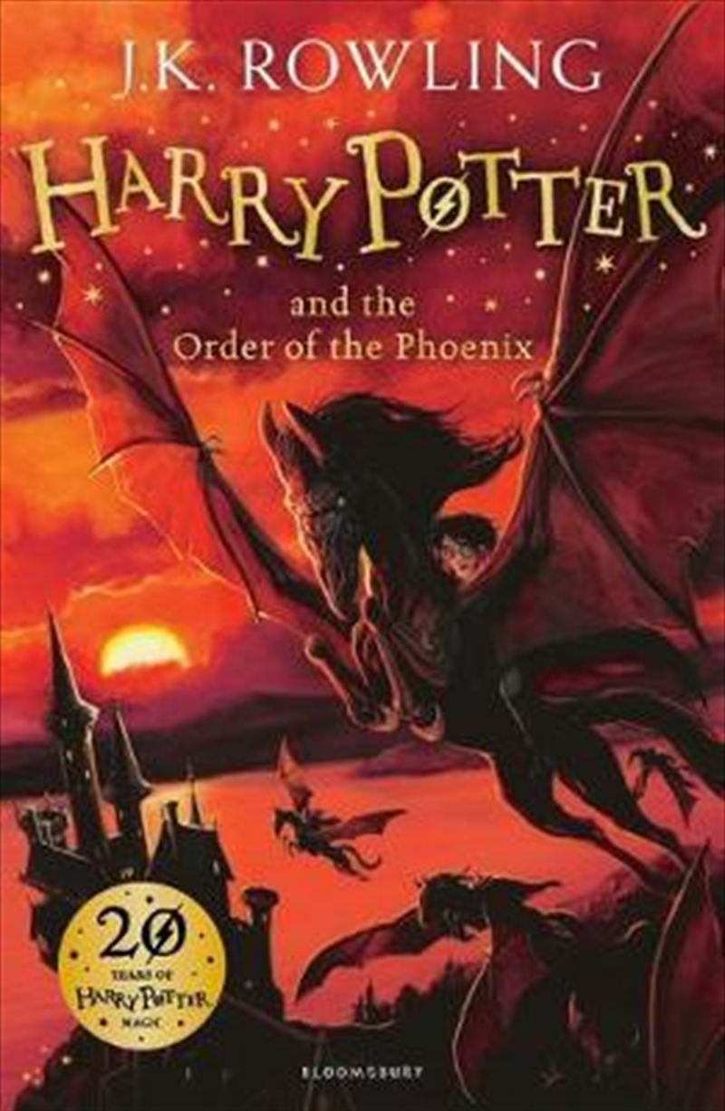 Harry Potter and the Order of the Phoeni | Paperback Book