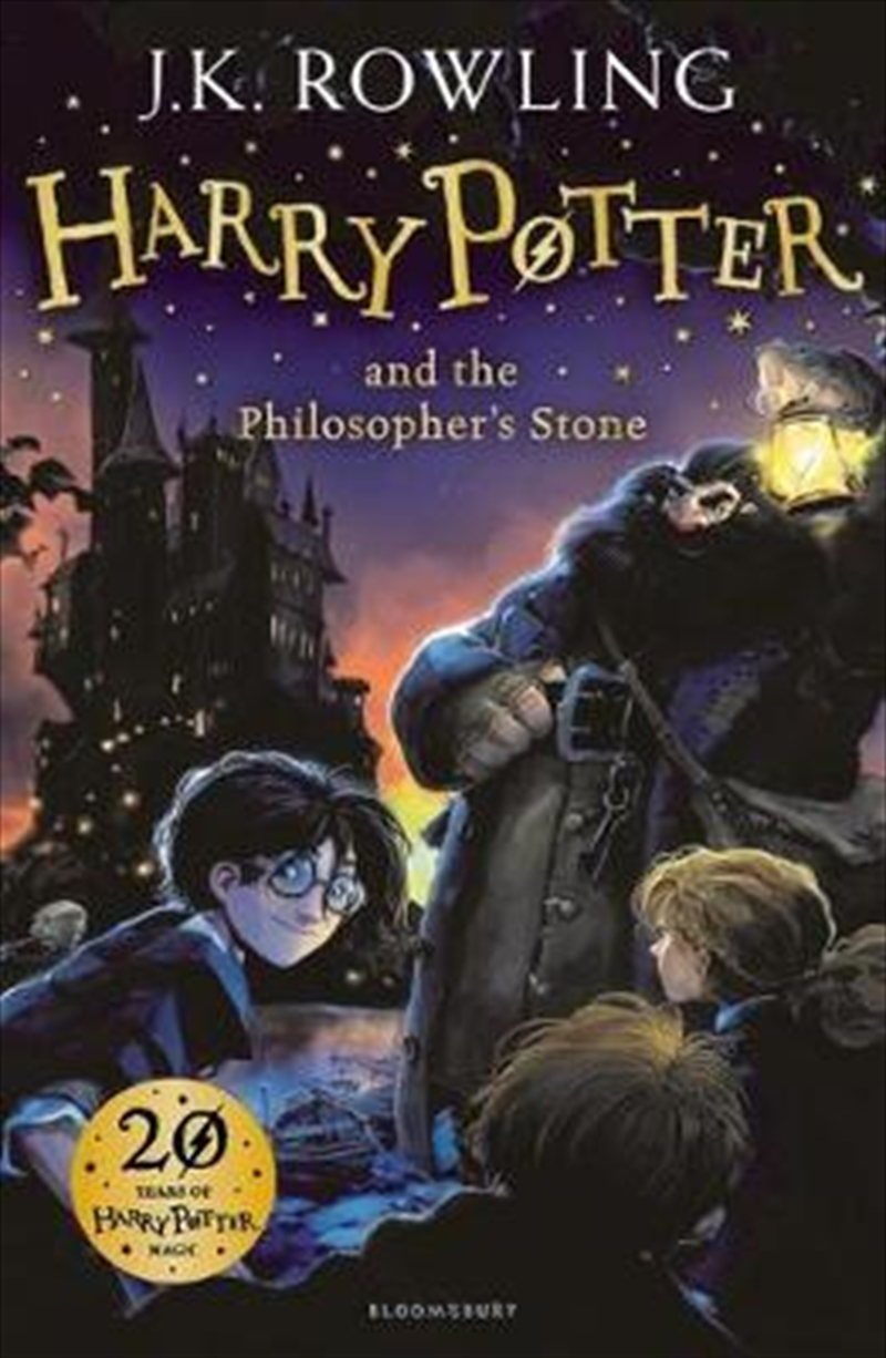 Harry Potter and the Philosopher's Stone | Paperback Book