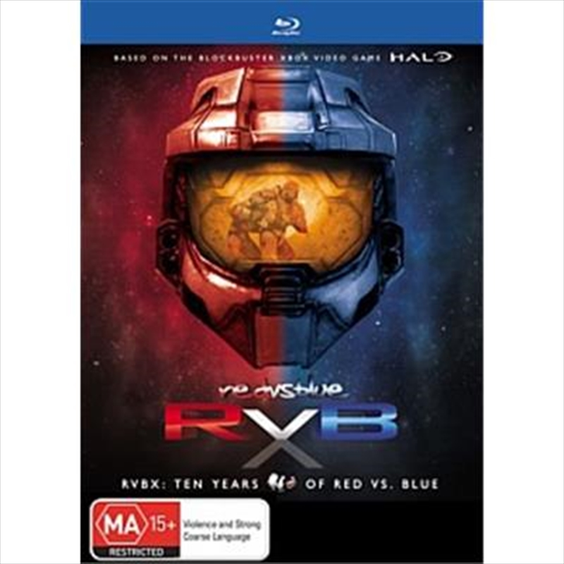 Red Vs. Blue; Season 1-S10   Blu-ray