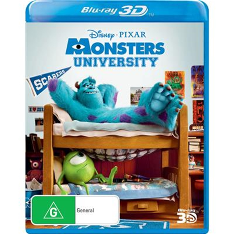 Monsters University | Blu-ray 3D