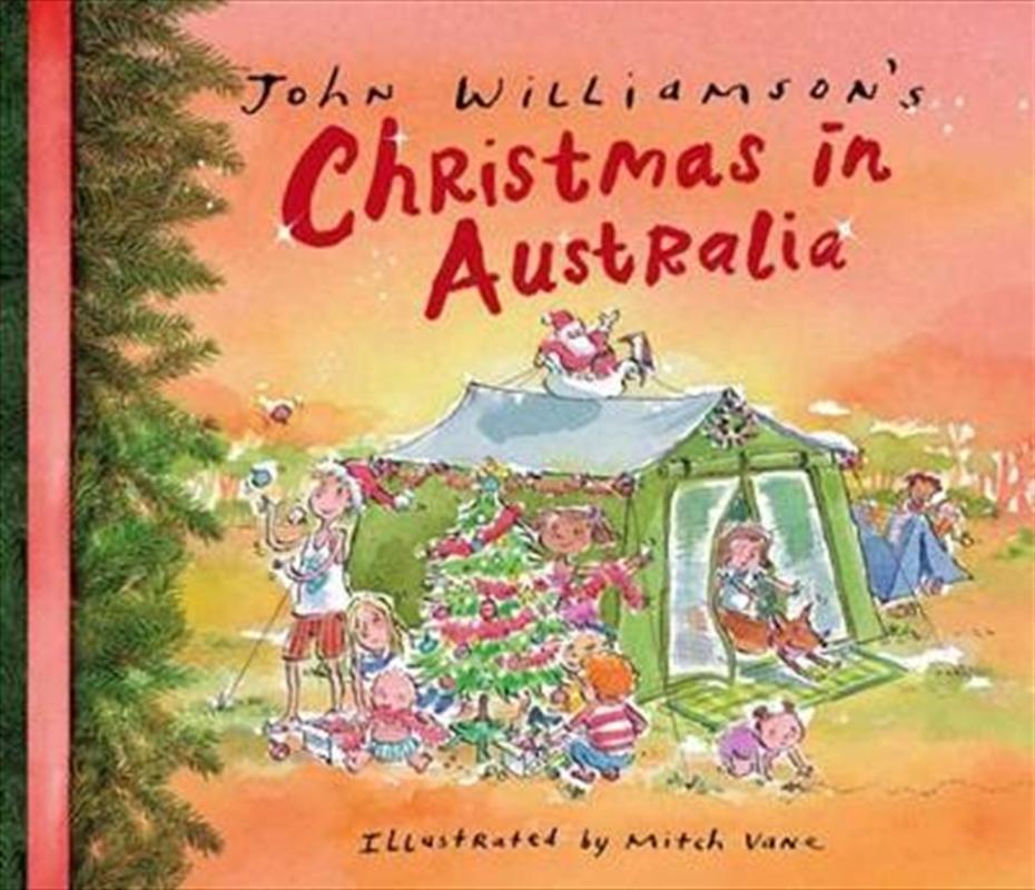 John Williamson's Christmas in Australia   Paperback Book