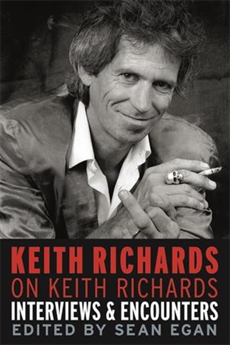 Keith Richards on Keith Richards | Paperback Book