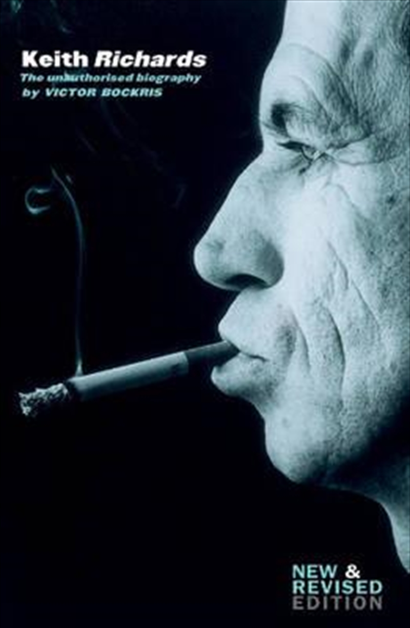 Keith Richards Unauthorised   Paperback Book