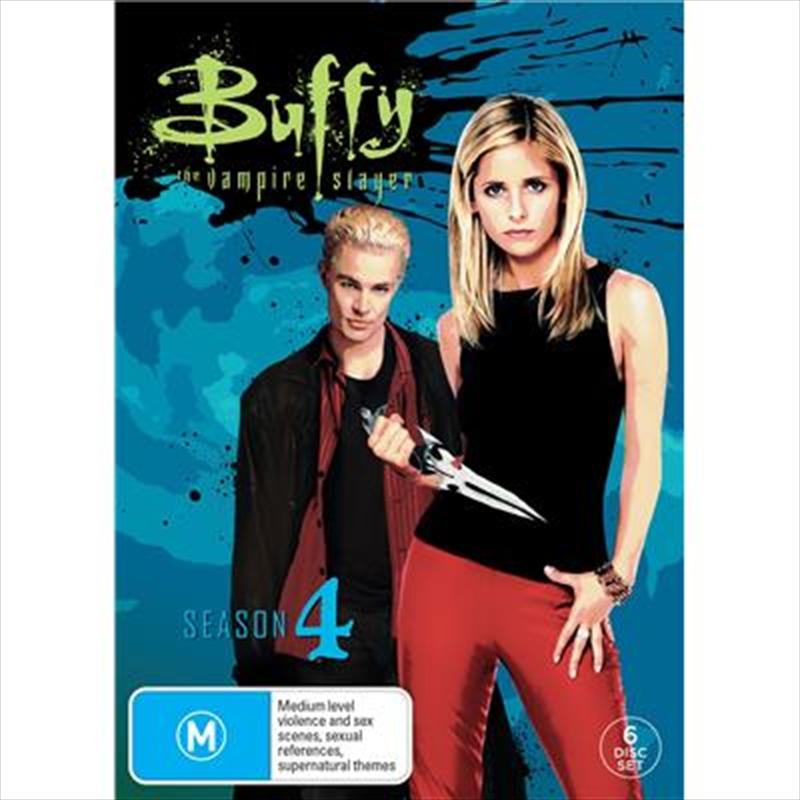 Buffy The Vampire Slayer - Season 4   DVD