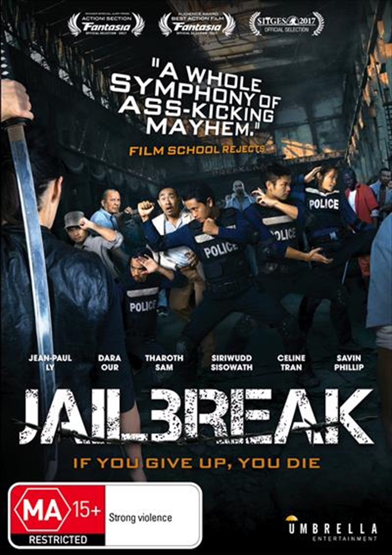 Buy Jailbreak On Dvd Sanity