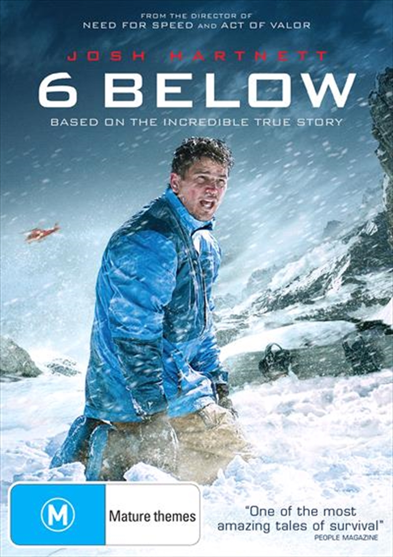 6 Below | DVD