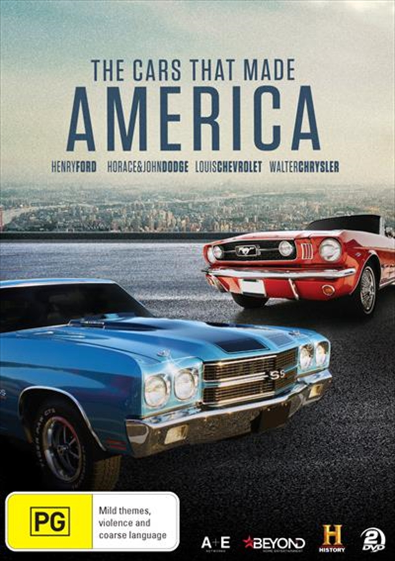 Cars That Made America, The | DVD