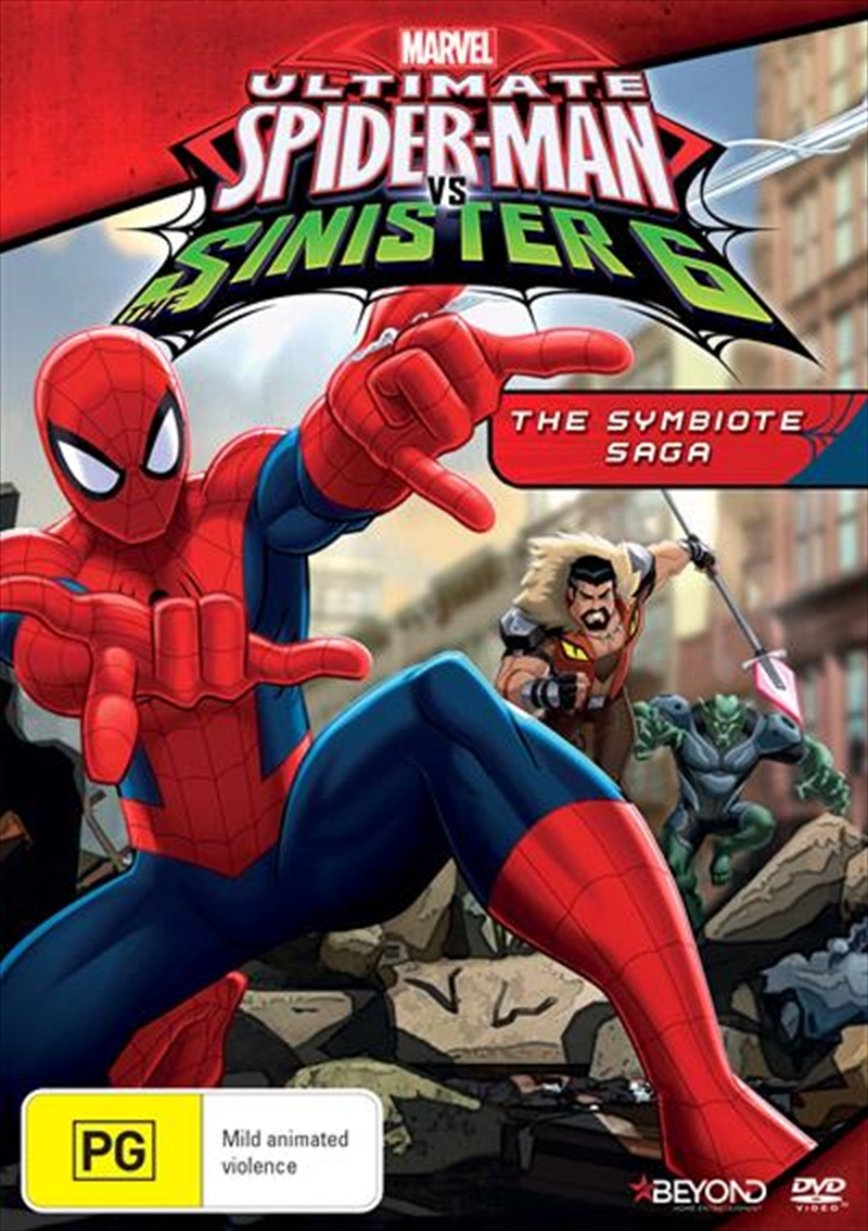 Ultimate Spider-Man - The Symbiote Saga | DVD