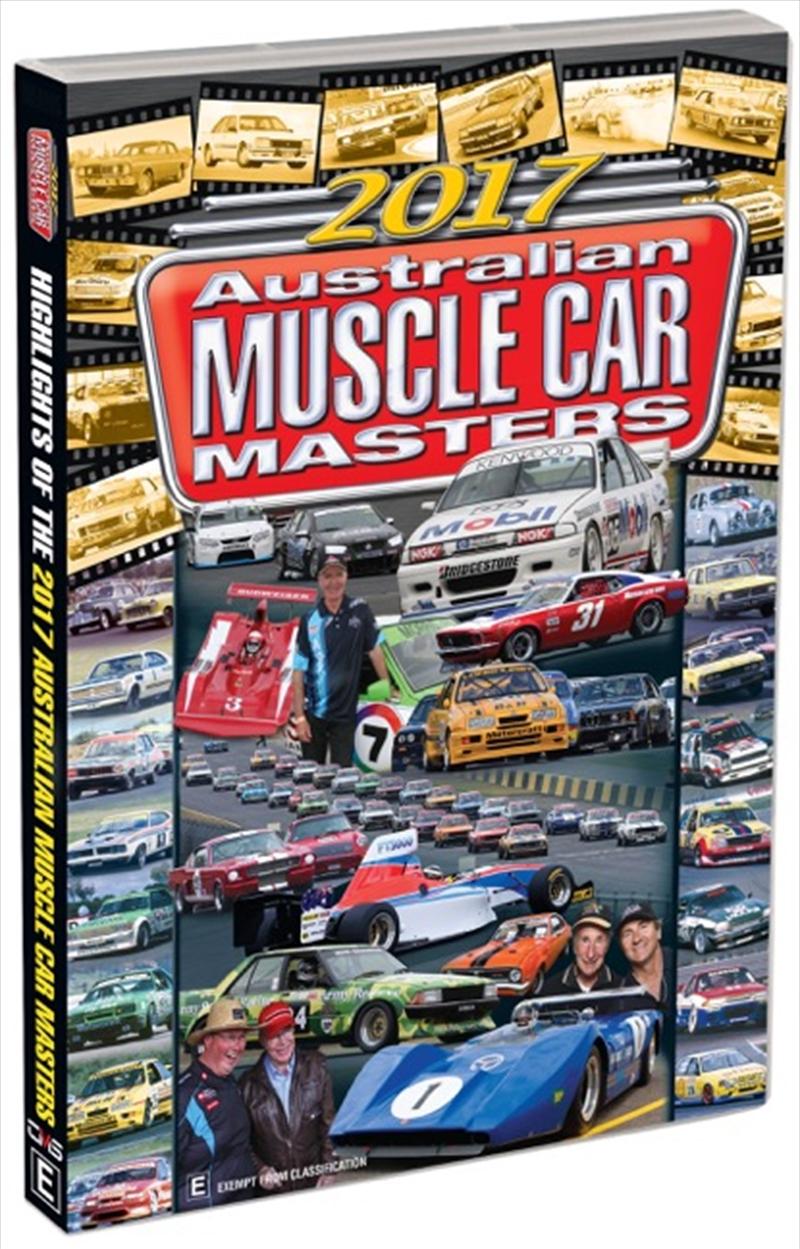 2017 Australian Muscle Car Masters Highlights   DVD