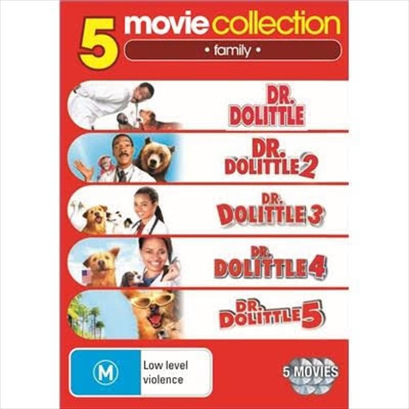 Dr Dolittle 1- 5 | DVD