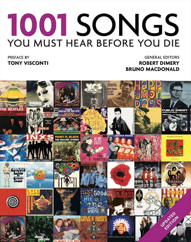 1001 Songs You Must Hear Before You Die   Paperback Book