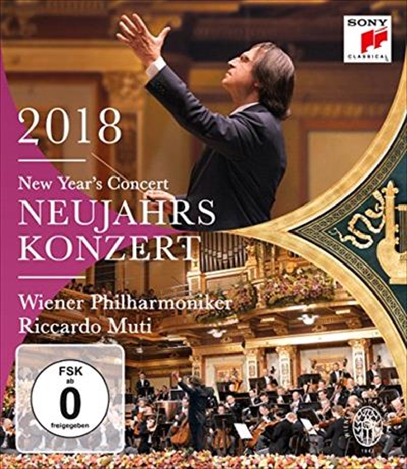 New Years Concert 2018 | Blu-ray