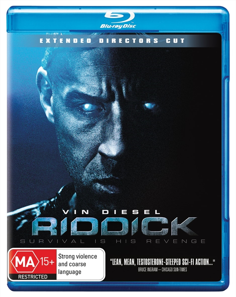 Riddick - Director's Cut Edition | Blu-ray