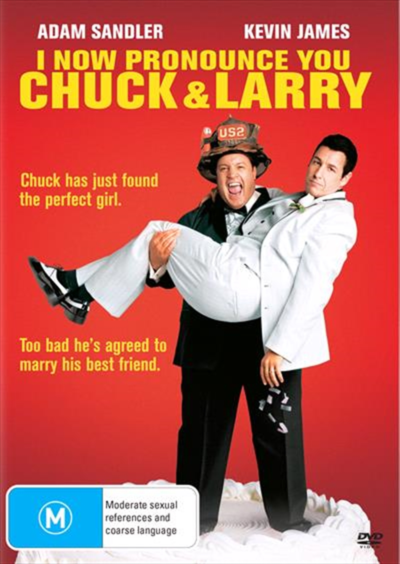 I Now Pronounce You Chuck And Larry | DVD