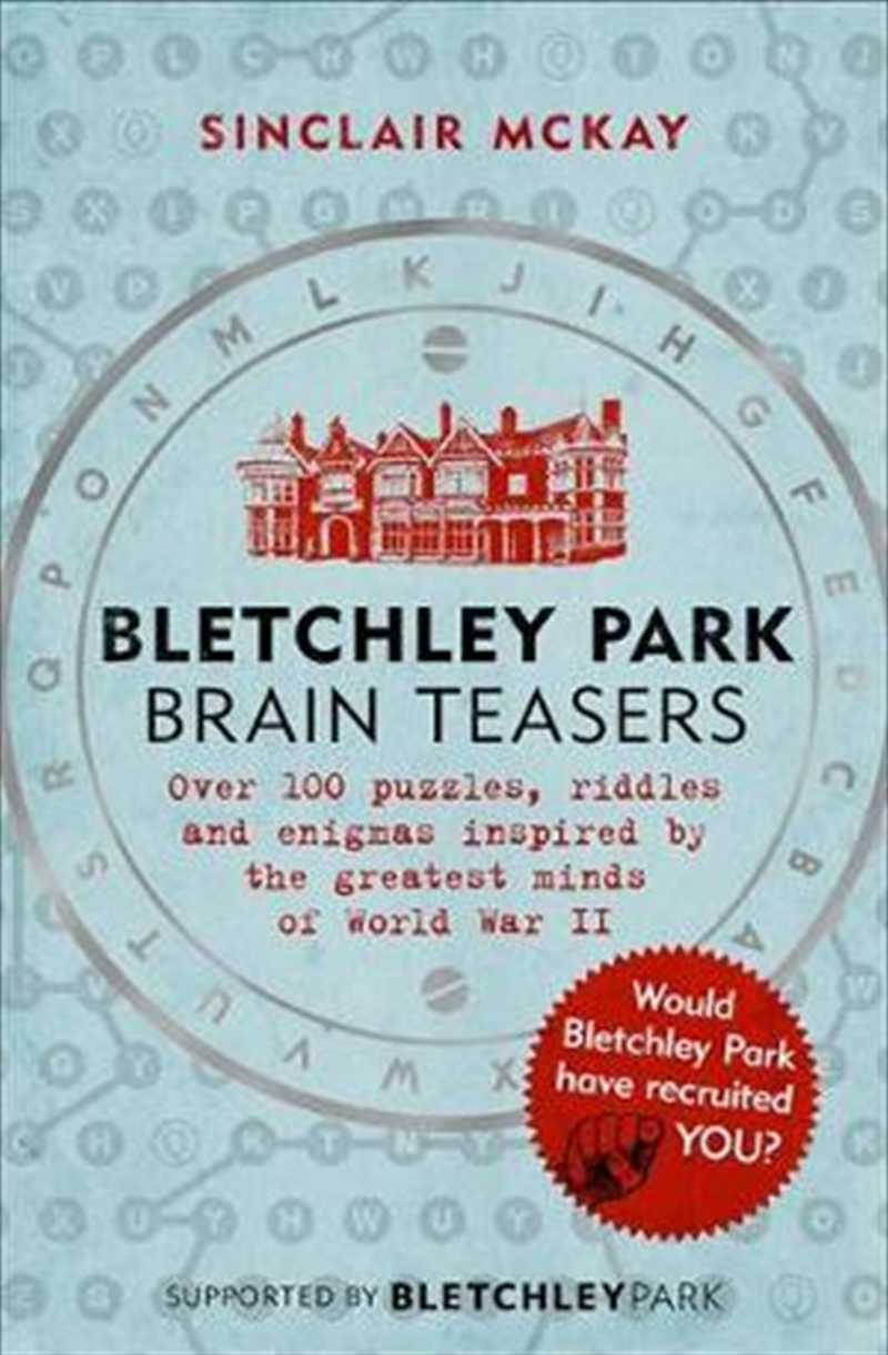Bletchley Park Brainteasers | Paperback Book