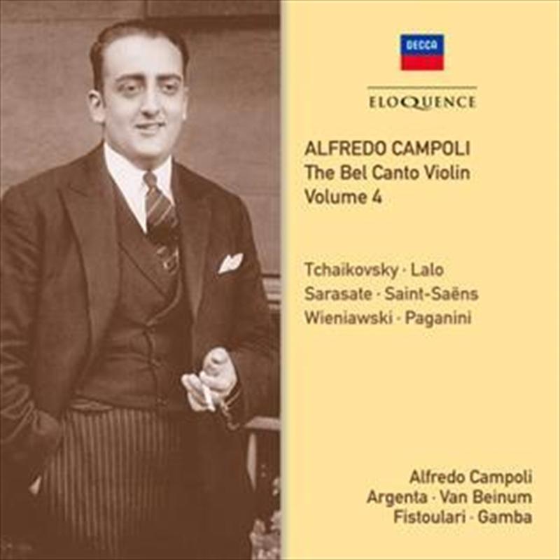 Bel Canto Violin - Volume 4   CD