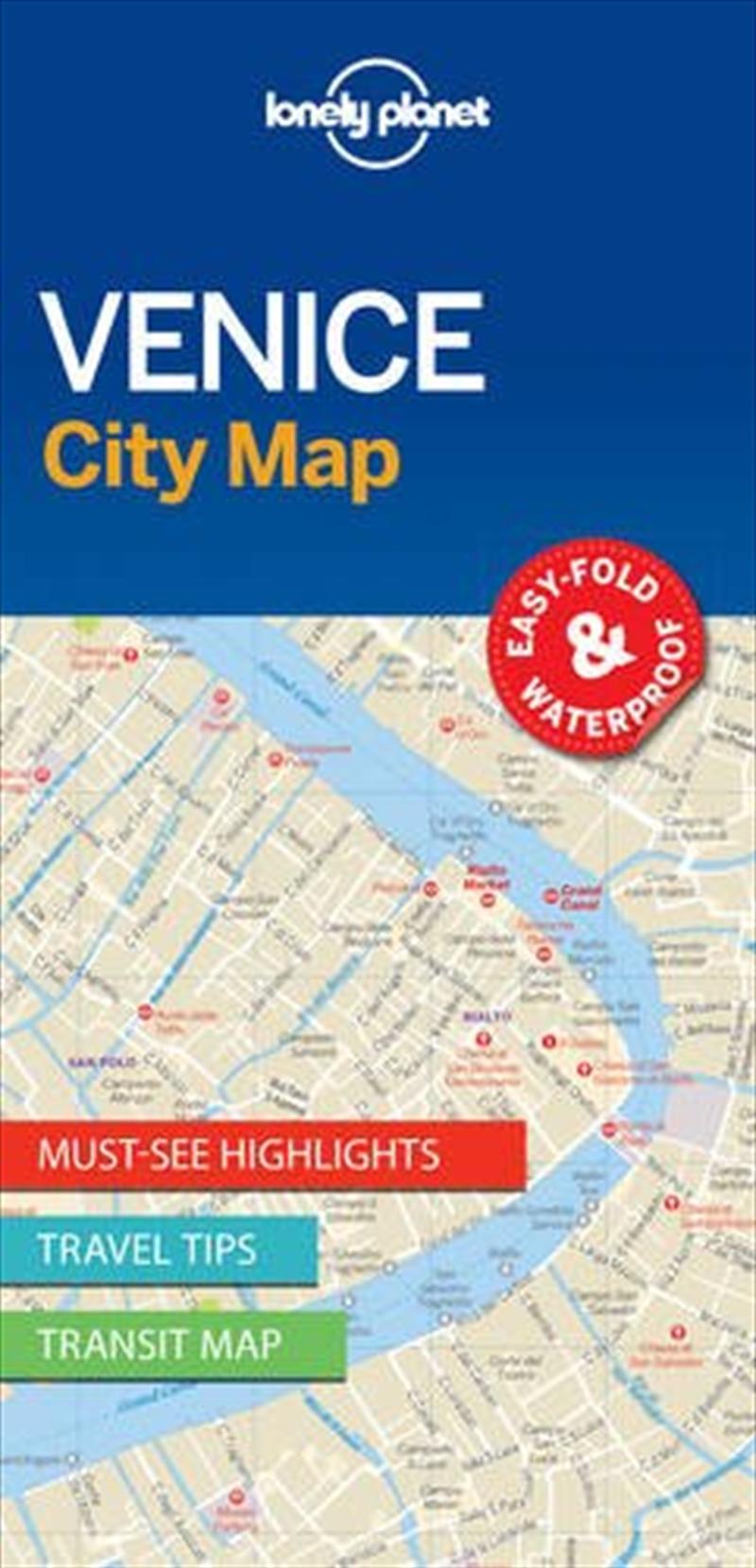 Venice City Map: Edition 1 | Sheet Map