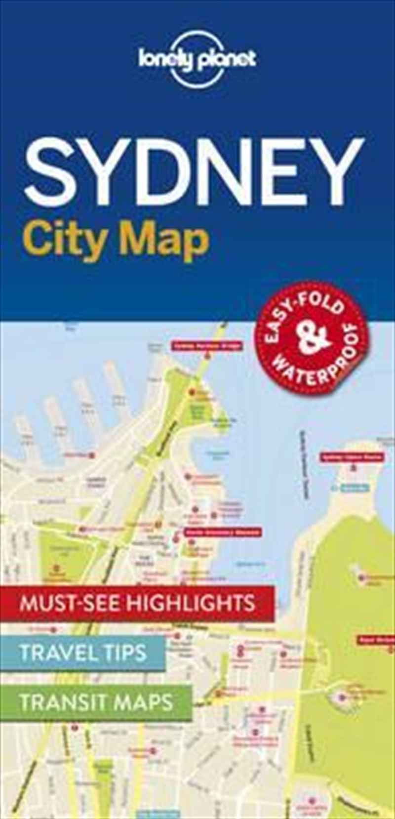 Sydney City Map: Edition 1 | Sheet Map