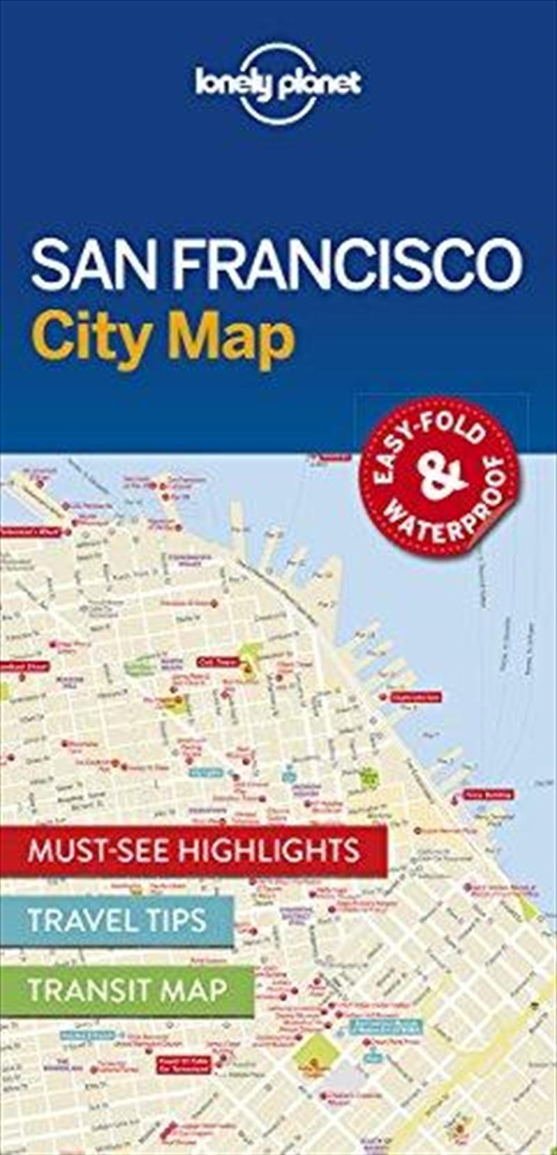 San Francisco City Map: Edn 1 | Sheet Map